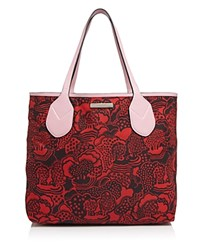Marc Jacobs The Dual Shopping Tote Pink Fleur