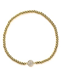 Aqua Sterling Silver Beaded Bracelet 100 Exclusive Gold