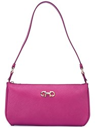 Salvatore Ferragamo 'Lisetta' Shoulder Bag Pink Purple