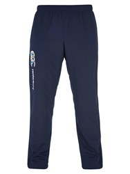 Canterbury Of New Zealand Stadium Open Hem Training Trousers Blue