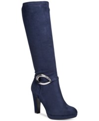 Impo Oriel Tall Boots Women's Shoes Midnight Blue