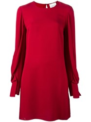 3.1 Phillip Lim Shift Dress Red