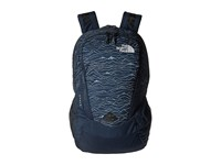 The North Face Vault Urban Navy Lineland Print Urban Navy Backpack Bags