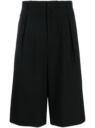 Yohji Yamamoto Tailored Knee Length Shorts 60