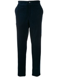 Harris Wharf London Ribbed Straight Leg Trousers 60