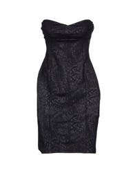 Fornarina Short Dresses Black