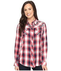 Ariat Journey Snap Shirt Plaid Women's Long Sleeve Button Up Multi