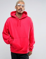 Weekday Big Hawk Hoodie 45 326 Red