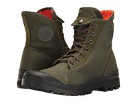 Palladium Pampa M65 Hi Army Green Black Flame Men's Lace Up Boots