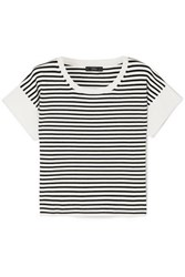 J.Crew Striped Knitted T Shirt Ivory