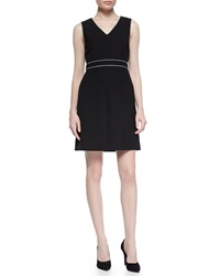 Diane Von Furstenberg Leelou Braid Trim Dress