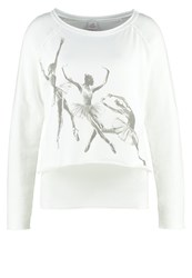 Deha Long Sleeved Top Ecru Off White