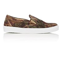 Barneys New York Men's Slip On Sneakers Nude