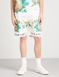 Billionaire Boys Club Landscape Print Cotton Shorts Bone