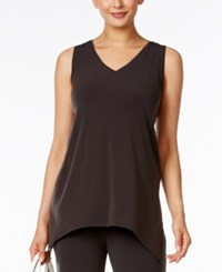 Alfani Sleeveless Asymmetrical Top Only At Macy's Pure Cinder