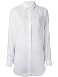 Ermanno Scervino Embellished Shirt White