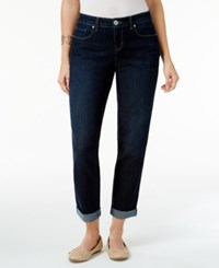Styleandco. Style Co. Curvy Fit Caneel Wash Cuffed Boyfriend Jeans Only At Macy's