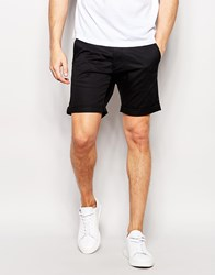 Selected Homme Chino Shorts Black