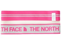The North Face Sporty Shorty Headbands High Rise Grey Glo Pink Headband