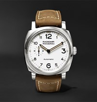 Officine Panerai Radiomir 1940 3 Days Automatic Acciaio 42Mm Stainless Steel And Leather Watch Brown