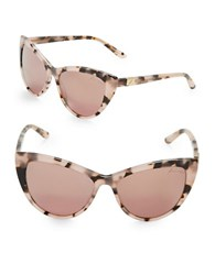 Brian Atwood 56Mm Cats Eye Sunglasses Brown