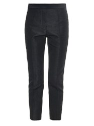 Ellery Duke Slim Leg Cropped Trousers