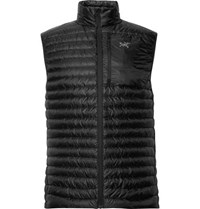 Arc'teryx Cerium Sl Slim Fit Quilted Arato Down Gilet Black