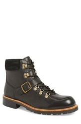 Andrew Marc New York Men's Andrew Marc 'Midwood' Plain Toe Boot Black Natural Leather