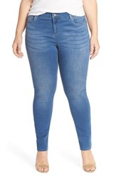 Plus Size Women's Two By Vince Camuto Super Stretch Skinny Jeans Authentic