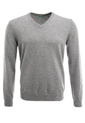 United Colors Of Benetton Jumper Grau Grey