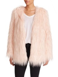 Tart Rella Faux Fur Coat Blush