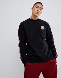 Dc Shoes Sweatshirt With Sleeve Stripe In Black