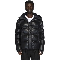 Fendi Black Down Hooded Jacket