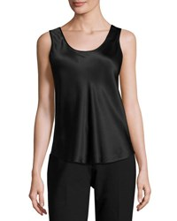 Rani Arabella Reversible Silk Tank Top Black