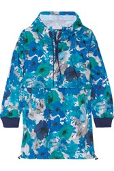 Adidas By Stella Mccartney Running Blossom Floral Print Shell Hooded Jacket Multi