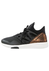 Reebok Lm Hayasu Sports Shoes Black Rose Gold Chalk