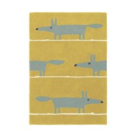 Scion Mr Fox Rug Mustard 90X150cm
