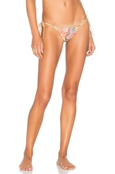 Ale By Alessandra Tie Side Brazilian Bottom Beige