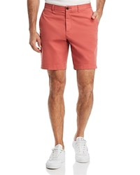Michael Kors Garment Dyed Stretch Cotton Shorts Faded Coral