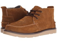 Toms Chukka Boot Chestnut Oiled Suede Men's Lace Up Boots Tan