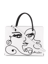 Moschino Cornely Woman's Drawing Tote Bag 60