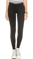 Atm Anthony Thomas Melillo Long Micromodal Yoga Pants Black