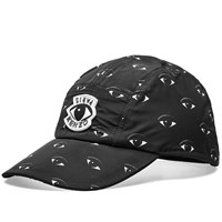 Kenzo All Over Eye Cap Black