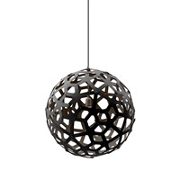 David Trubridge Coral Light Black 80Cm