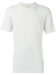 Simon Miller Round Neck T Shirt Nude And Neutrals