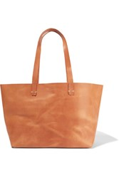 Clare V. V Suki Supreme Leather Tote Tan