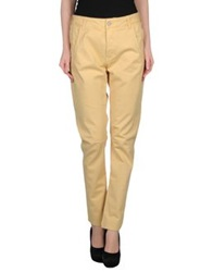 Manila Grace Denim Denim Pants Light Yellow