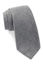Ben Sherman Solid Tie Gray