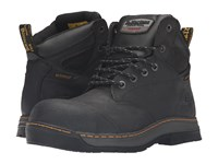 Dr. Martens Work Deluge Electrical Hazard Waterproof Steel Toe 6 Eye Boot Black Connection Waterproof Men's Lace Up Boots