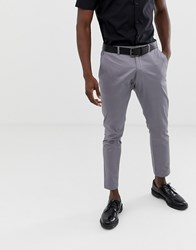 Esprit Slim Fit Suit Trouser In Grey